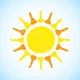 Hand Drawn Sun