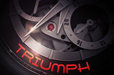 Triumph on Automatic Wristwatch Mechanism. 3D.