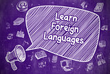Learn Foreign Languages - Business Concept.