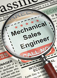 Mechanical Sales Engineer Join Our Team. 3D.