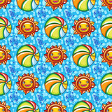 Vector summer pattern.