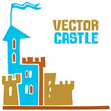 Vector castle