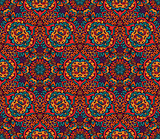 geometric abstract seamless mosaic