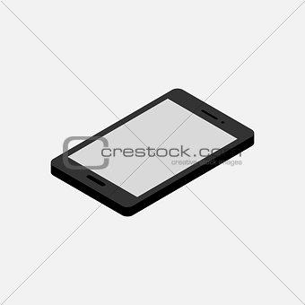 Smapt phone isometric
