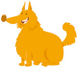 yellow shaggy dog cartoon