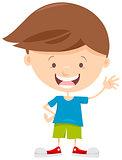 little boy cartoon character