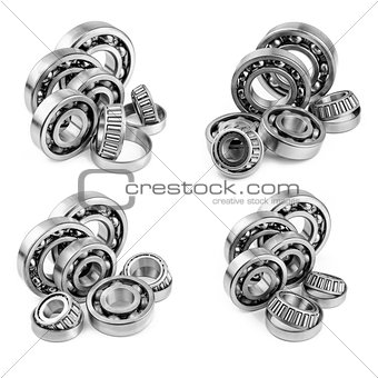 Bearings with shallow depth of field