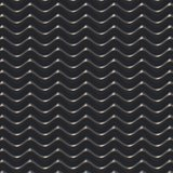 Black wave abstract background. 3D