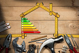 Home Improvement Concept - Energy Efficiency