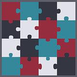 Puzzle clip art icon
