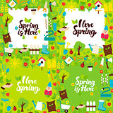 Spring Garden Lettering Posters
