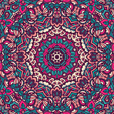 Abstract ethnic mandala floral pattern ornamental