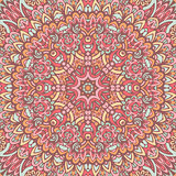 abstract floral mandala seamless pattern