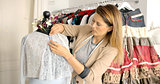 Dressmaker working with mannequin