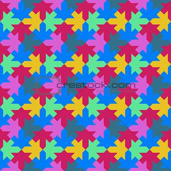 arabic pattern leafs seamless