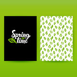 Spring Time Green Poster