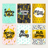 Spring Time Trendy Brochures
