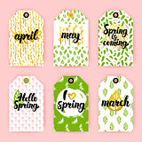 Spring Trendy Gift Labels