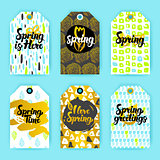 Spring Trendy Hipster Gift Labels