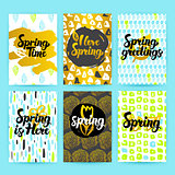 Spring Trendy Hipster Posters