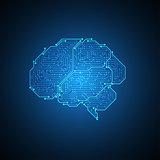 Electronic brain.