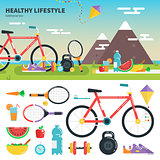 Recomendations for healthy lifestyle