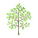 Tree. Hand-drawn watercolor