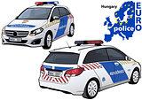 Hungary Police Car
