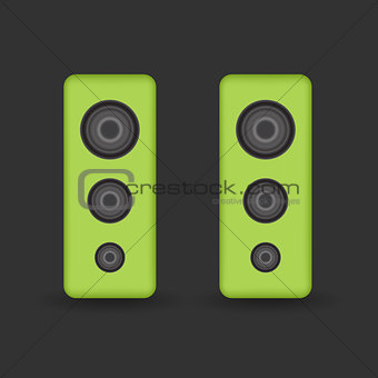 Green music Speakers