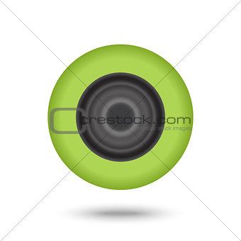 Green music Speaker