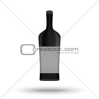 Alcohol bottle template