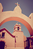 Church in San Pedro de Atacama, Chile