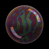 Realistic soap bubble