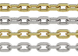 Seamless chain set