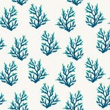 Seamless pattern with corals.