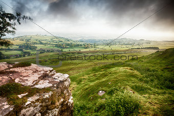 Brecon Beacons landscape view