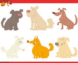 happy dogs cartoon characters