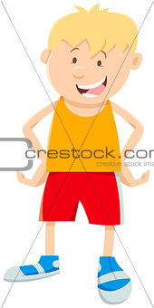 boy cartoon illustration