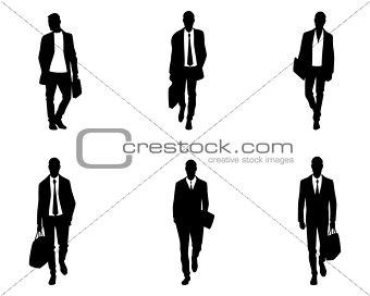 Six business mens