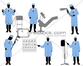 Six doctors set