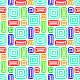 Colored Abstract Background Seamless Pattern. Vector Illustratio