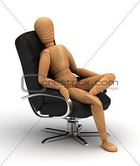 Sitting Relax
