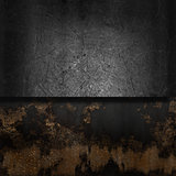 Grunge metal and rust background