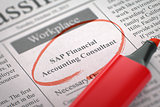 SAP Financial Accounting Consultant Hiring Now. 3d.