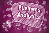 Business Analytics - Business Concept.