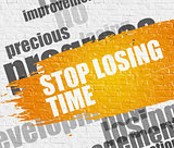 Stop Losing Time on White Brick Wall.
