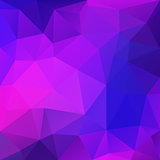 Purple Abstract Polygonal Background