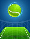 tennis background . vector