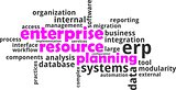 word cloud - enterprise resource planning