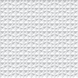 Seamless 3d pattern. White geometric texture.